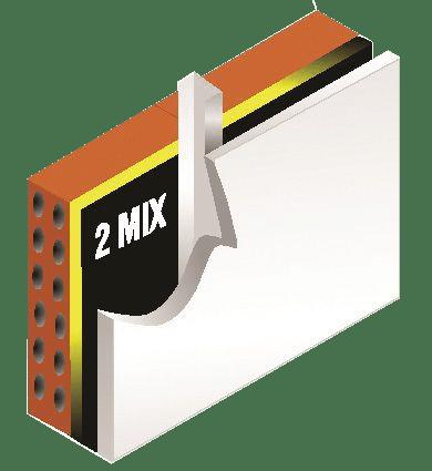 لایه ترکیبی عایق 2Mix